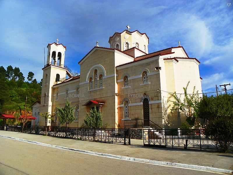 Εκκλησίες - Μοναστήρια στην Βόρεια Εύβοια Άγιος Ιωάννης Ρώσος