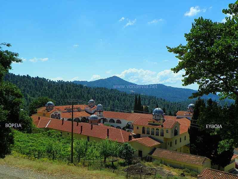 Εκκλησίες - Μοναστήρια στην Βόρεια Εύβοια Μονή Όσιου Δαυίδ του Γέροντα