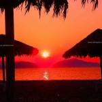 Φωτογραφίες Βόρεια Εύβοια - Ηλιοβασίλεμα Πευκί