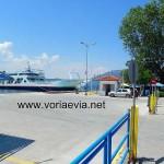 Αγιόκαμπος, Βόρεια Εύβοια λιμάνι.
