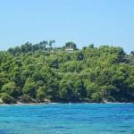 Παραλία Νεράκια Καστρί Εύβοια