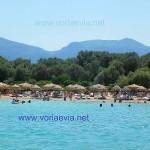 Λιχαδονήσια - Λιχάδες Εύβοιας παραλία της Μονολιάς.