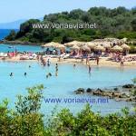 Λιχαδονήσια - Λιχάδες παραλία της Μονολιάς