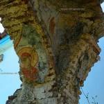 Παναγία της Θεοτόκου, Μαραθιά Γιάλτρα, τοιχογραφία με τη μορφή της Παναγίας.
