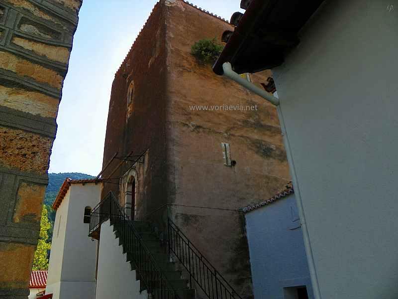 Μονή Αγίου Νικολάου Γαλατάκη Παλιός Πύργος