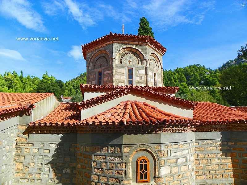 Εκκλησίες - Μοναστήρια στην Βόρεια Εύβοια Μονή Αγίου Νικολάου Γαλατάκη