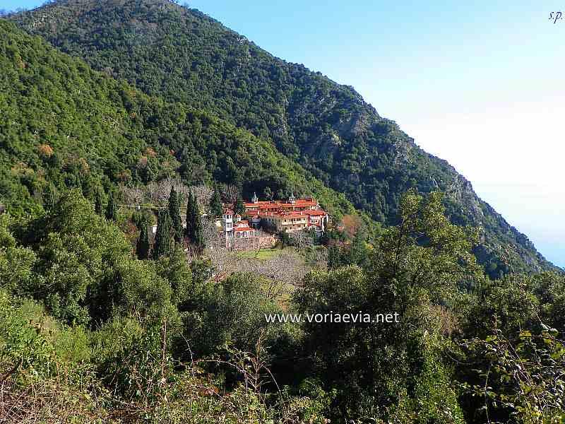 Εκκλησίες - Μοναστήρια στην Βόρεια Εύβοια Μονή Αγίου Γεωργίου Ηλιών