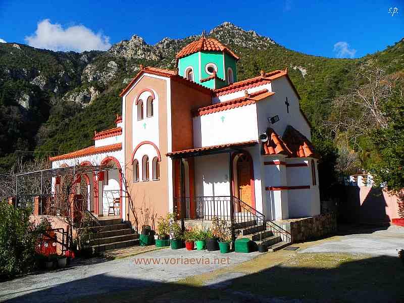 Μονή Αγίου Γεωργίου Ηλιών ( Ἐκκλησία Αγίας Πολυχρονίας )