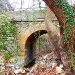 Άγιος Αιδηψού Πέτρινο Τοξωτό Γεφύρι
