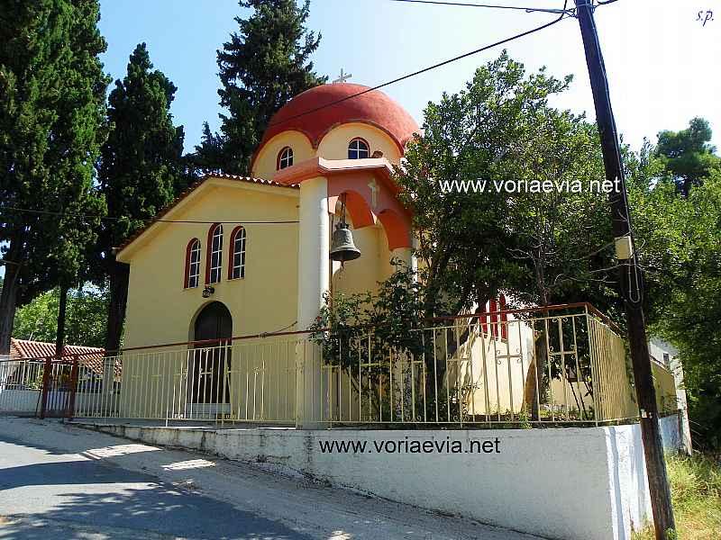 Καλαμούδι Ιερός Ναός Κοιμήσεως της Θεοτόκου.