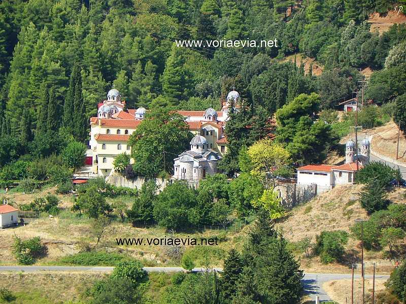 Δρυμώνα, το μοναστήρι του Οσίου Δαυίδ.