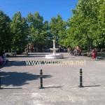 Προκόπι, πλατεία Άγιου Ιωάννη Ρώσου.