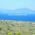 Θάλασσα Αρτεμισίου λήψη από ψηλά.