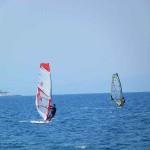 Δραστηριότητες στην Βόρεια Εύβοια: wind surfing.