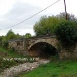 Στροφυλιά, τρίτοξο θολωτό γεφύρι, κατασκευάστηκε γύρω στα 1905.