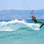 Δραστηριότητες στην Βόρεια Εύβοια, kitesurf.