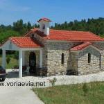 Καλύβια, Ναός Των Αγίων Ραφαήλ Νικολάου Κ Ειρήνης.